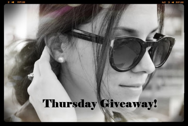 Thursday giveaway