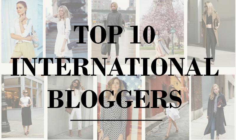 Top 10 International Bloggers